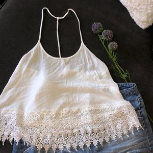 Freeway White summer top